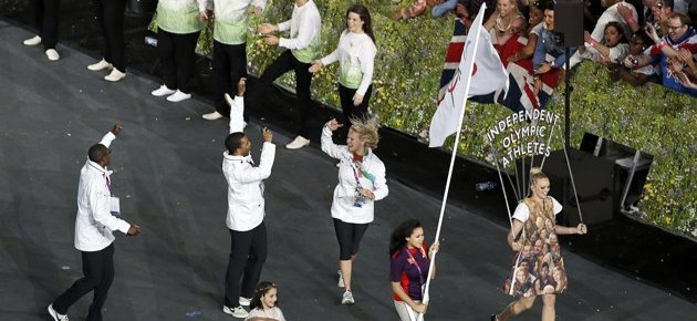 Independent Olympic Athletes Are Highlights Of The Parade
