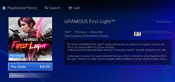 inFAMOUS: Second Son Will Likely Experience First Light On August 26