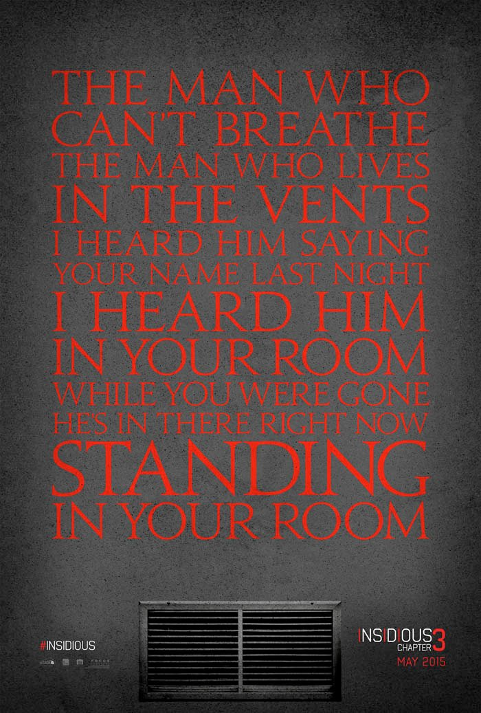 New Insidious: Chapter 3 Still Is Standing Right Behind You