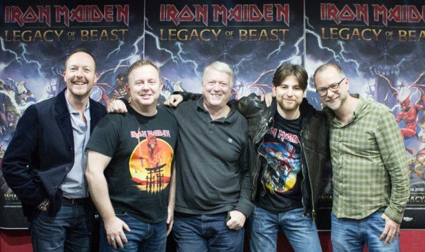 Heavy Metallers Iron Maiden Are Making Their Own Mobile Game