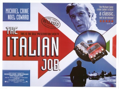 italian job 478x360 9 Movies That Celebrate The Art Of The Heist In All Its Forms