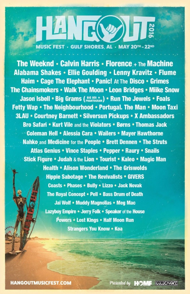 Hangout Festival Makes Monumental 2016 Lineup Announcement