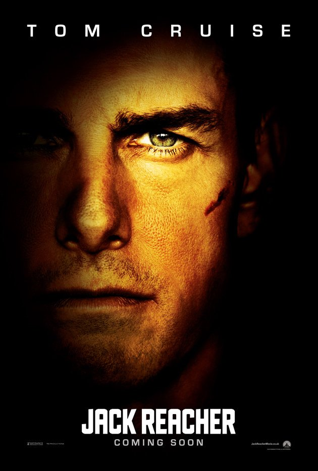 Tom Cruise Is Jack Reacher/Jack Reacher Is Tom Cruise In New U.K. Poster