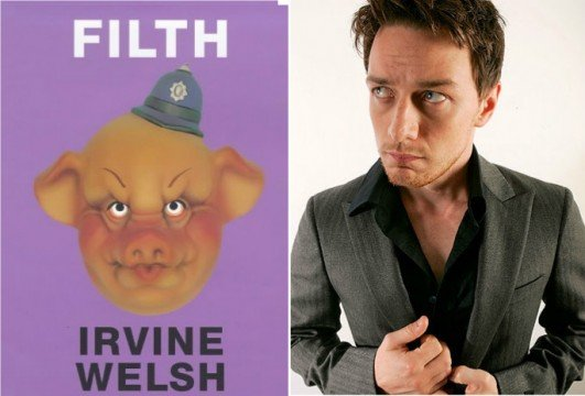 James McAvoy, Jamie Bell And Alan Cumming To Wallow In Filth