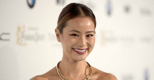 Jamie Chung Cordially Invited To DreamWorks Comedy Office Christmas Party