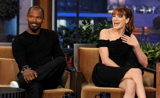 Michelle Monaghan And Jamie Foxx Are Headed For A Sleepless Night