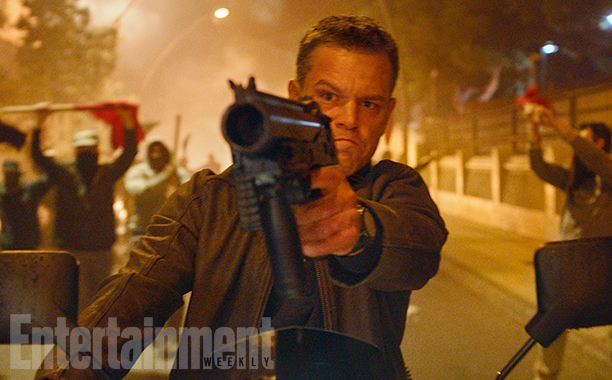 Jason Bourne Action Shot Heralds The Return Of Matt Damon's Deadly Agent