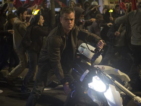Jason Bourne Revs Up His Ride In New Pic