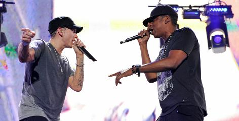 Eminem And Jay-Z Go All Out In Detroit At Comerica Park