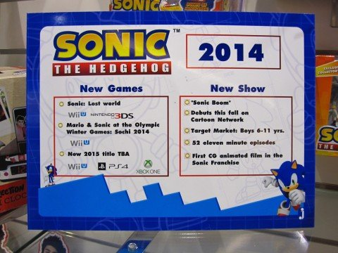 Leaked Poster Suggests New Sonic In 2015