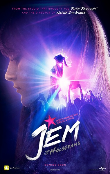 Jem And The Holograms Find Their Voice In New Clip And Poster For Musical Drama