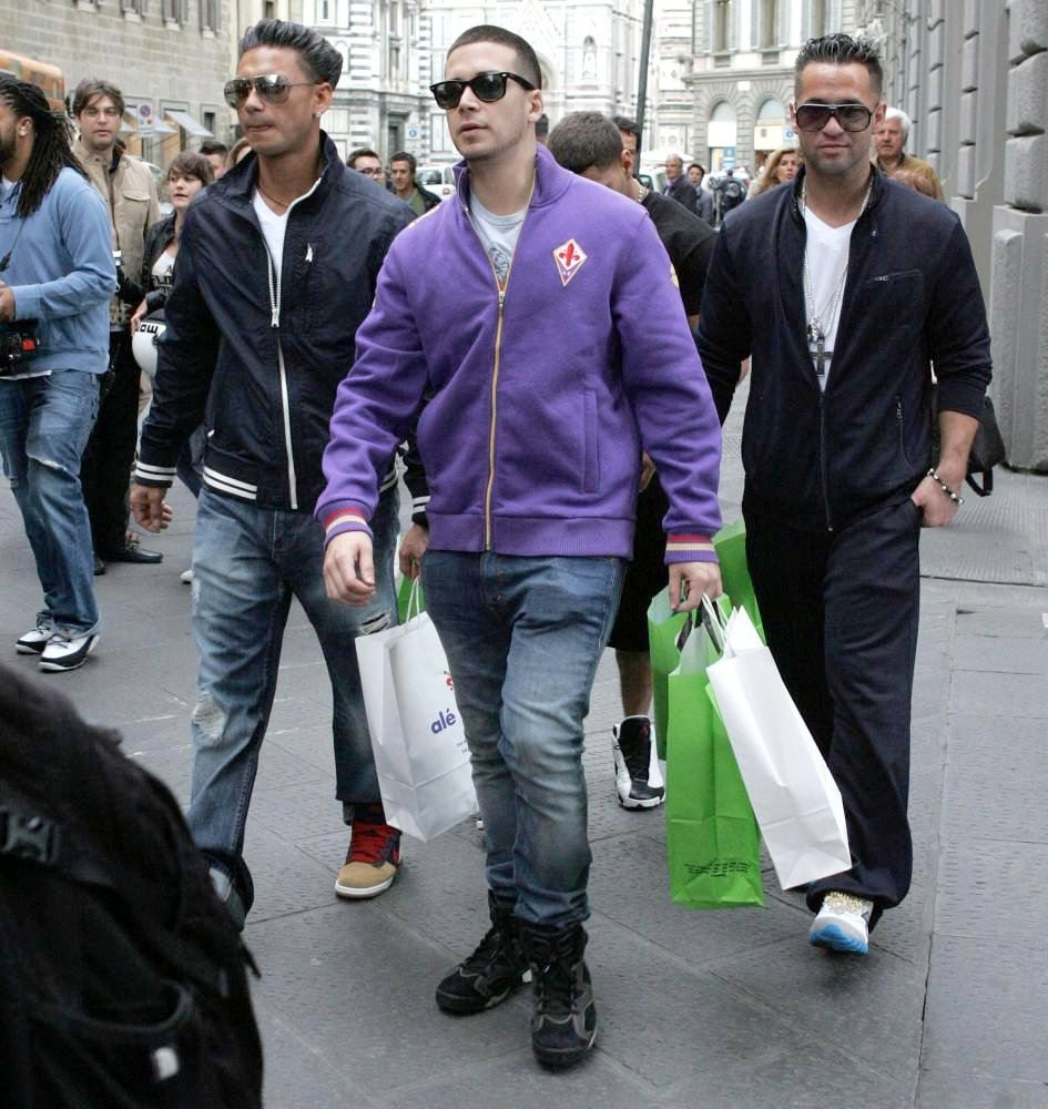 Photos Of The Jersey Shore Cast In Florence