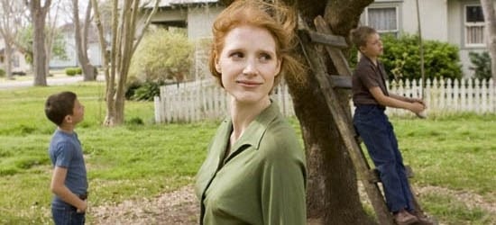 Roundtable Interview With Jessica Chastain On The Tree Of Life