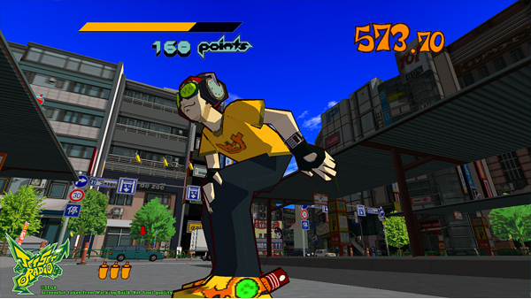 Jet Set Radio Grinds Its Way Onto Xbox One Backwards Compatibility