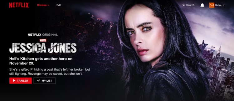 New Images And Promo Clip For Jessica Jones Released