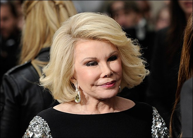 Entertainer Joan Rivers Has Died At 81