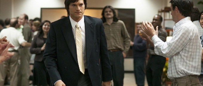 Press Conference Interview With Ashton Kutcher And Joshua Michael Stern On Jobs