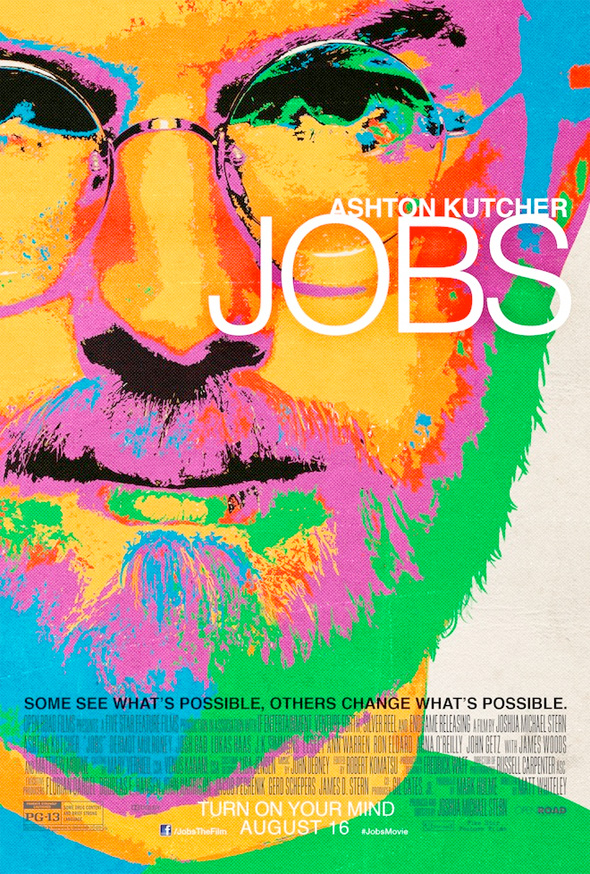 New Poster For Jobs Is Very Colourful