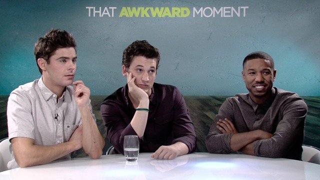 Exclusive Video Interview With The Cast And Director Of That Awkward Moment