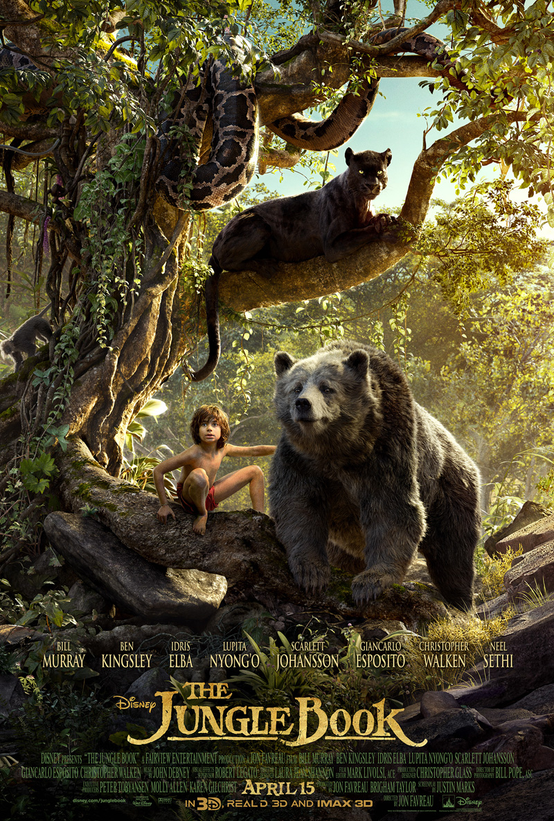 Breathtaking IMAX Trailer For The Jungle Book Brings Jon Favreau's Animal Kingdom To Life