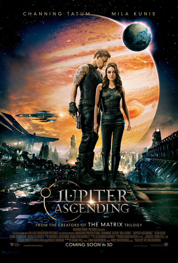 The Wachowskis' Jupiter Ascending Packs A Sci-Fi Punch In New International Trailer And Poster