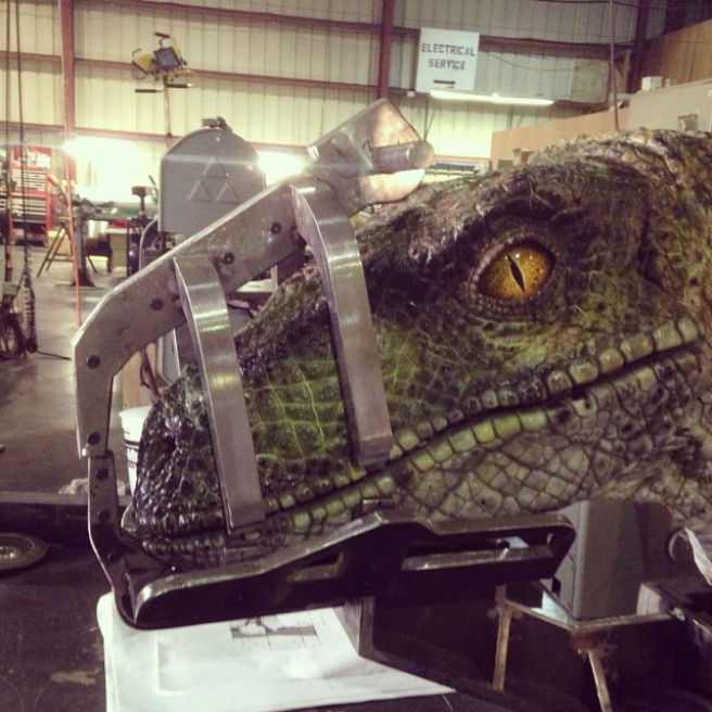 Check Out A Velociraptor From Jurassic World
