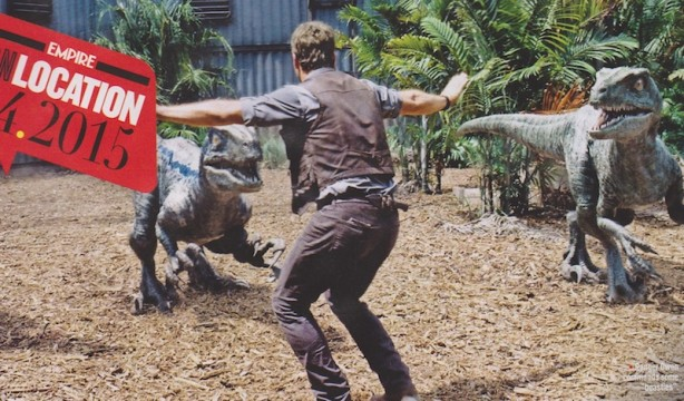 Chris Pratt Wrangles Some Raptors In New Jurassic World Stills