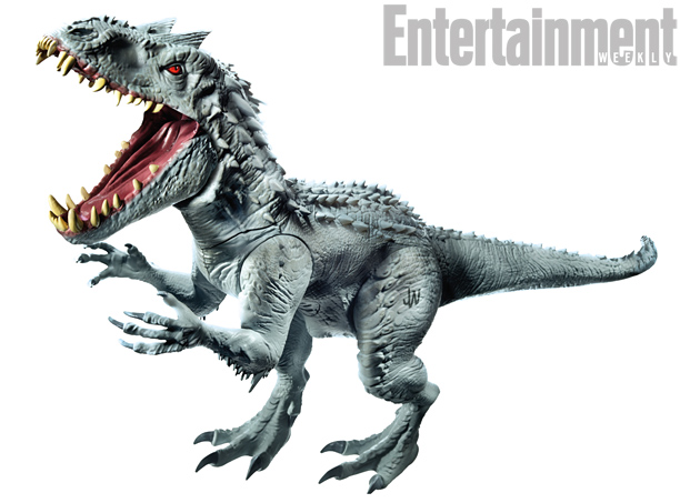 Hasbro Figure Offers Up The Best Look At Jurassic World's Indominus Rex Yet