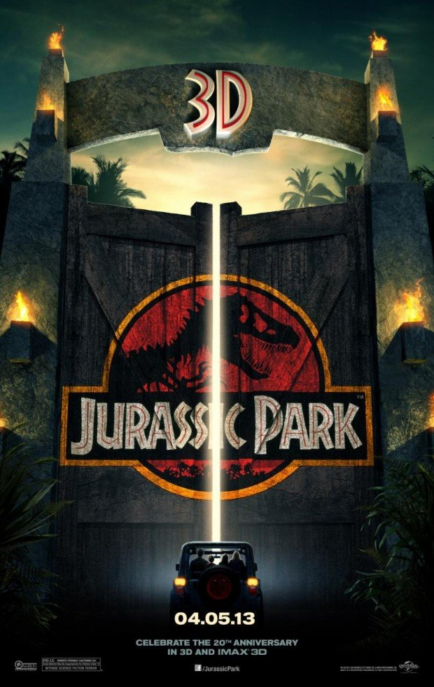 Check Out The First Poster For Jurassic Park 3D