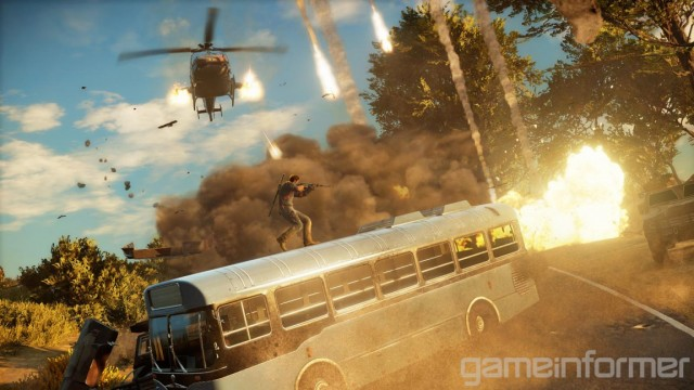 New Just Cause 3 Screenshots Bring The Perfect Kind Of Mayhem