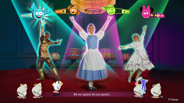 Just Dance: Disney Party Announced For Wii And Kinect