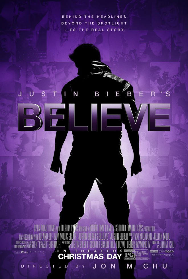 New Poster For Justin Bieber's Believe