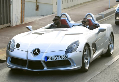 Kanye West Shows Off His New Car