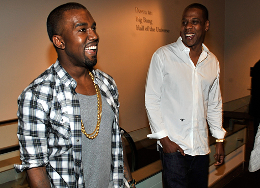kanye west jay z listening party Jay Z & Kanye West   Watch The Throne Review