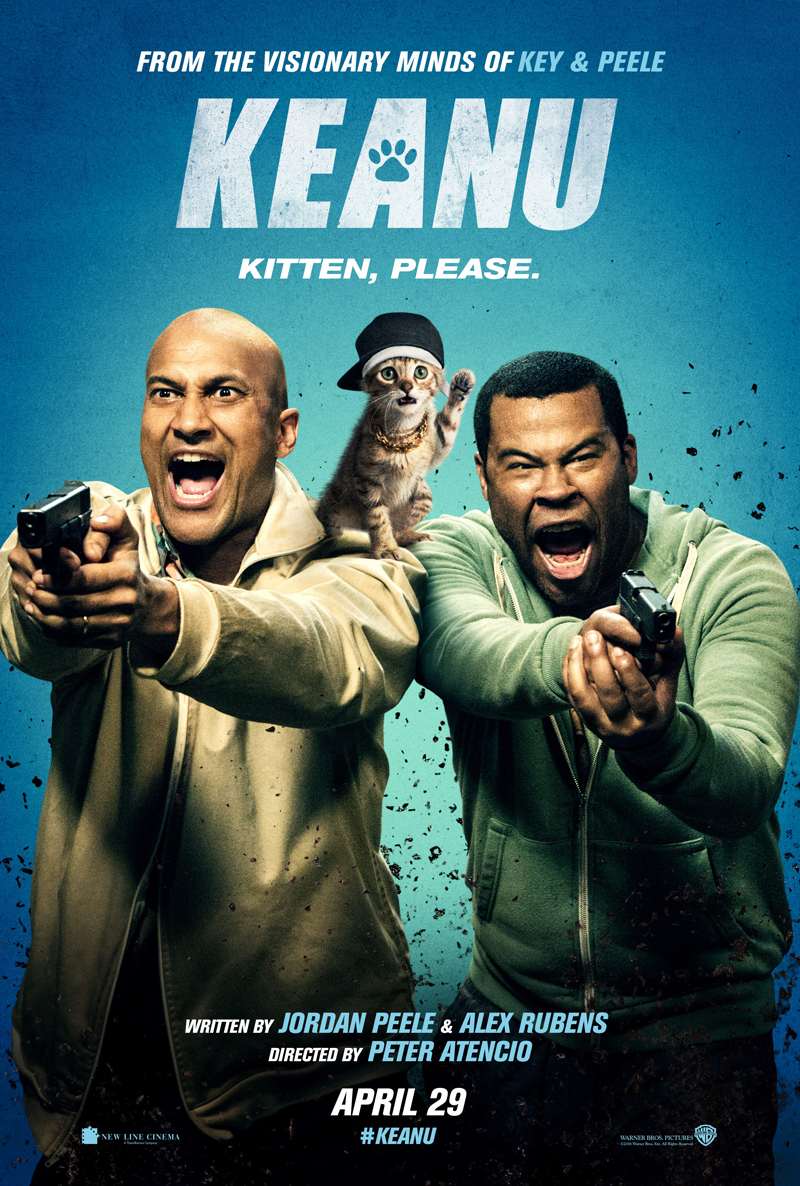 Key And Peele's Gangster Pet Is The Star Of New Keanu Poster
