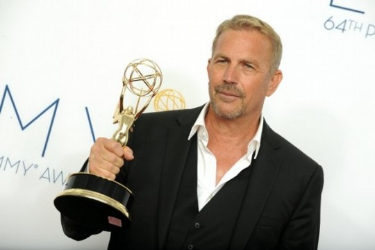 kevin costner emmy 540x360 Kevin Costner Talks Western Film Series Plans