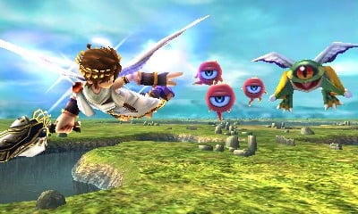 Kid Icarus Uprising Hands On Preview Nintendo 3DS Cold Hard Games