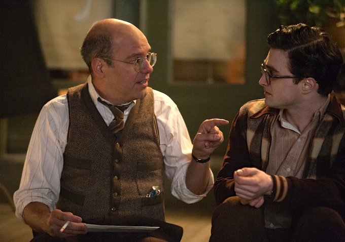 Lucien Carr Impresses Allen Ginsberg With His Oratory In Kill Your Darlings Clip
