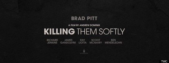 First Poster For Andrew Dominik's Killing Them Softly Starring Brad Pitt