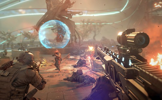 killzone shadow fall execution firefight 540x334 Killzone: Shadow Fall Gallery