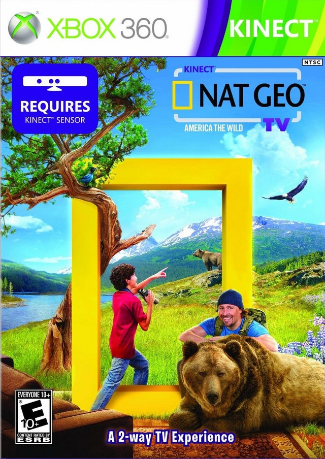 Kinect Nat Geo TV Review