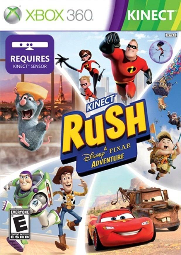 Kinect Rush: A Disney - Pixar Adventure Review
