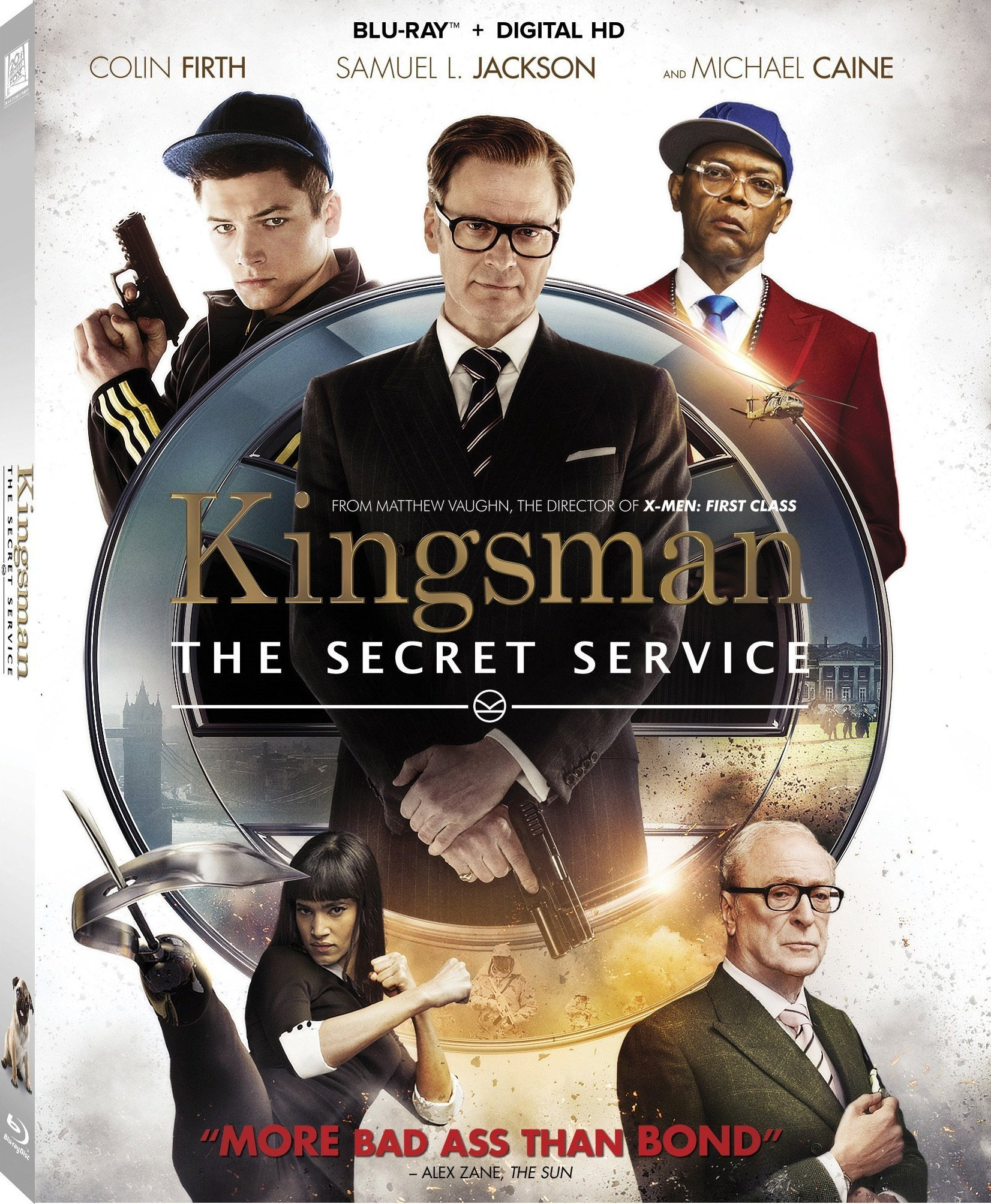 Kingsman: The Secret Service Blu-Ray Review