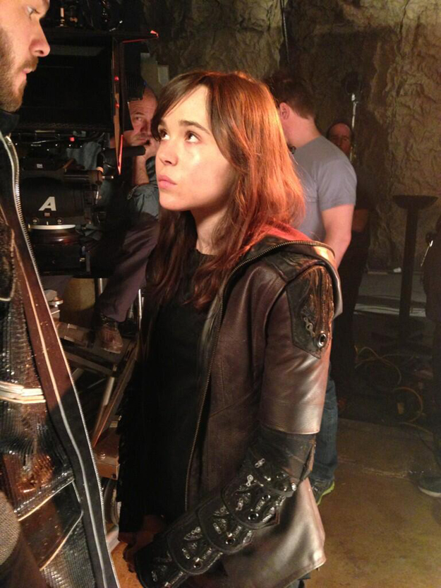 First Look At Ellen Page As Kitty Pryde In X Men: Days Of Future Past