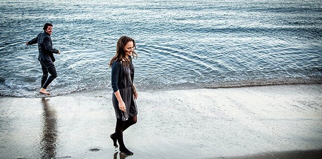 Spiritual New Knight Of Cups Poster Flips Christian Bale's World On Its Head