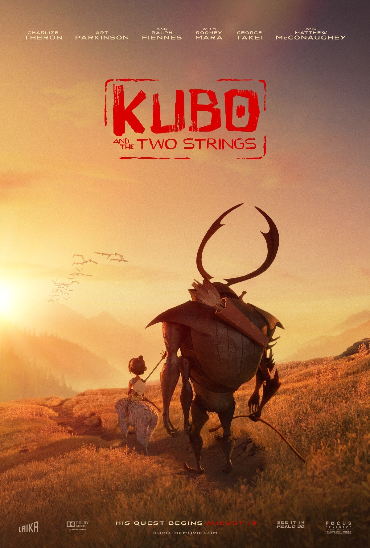 Latest Trailer For Kubo And The Two Strings Tees Up An Epic Adventure