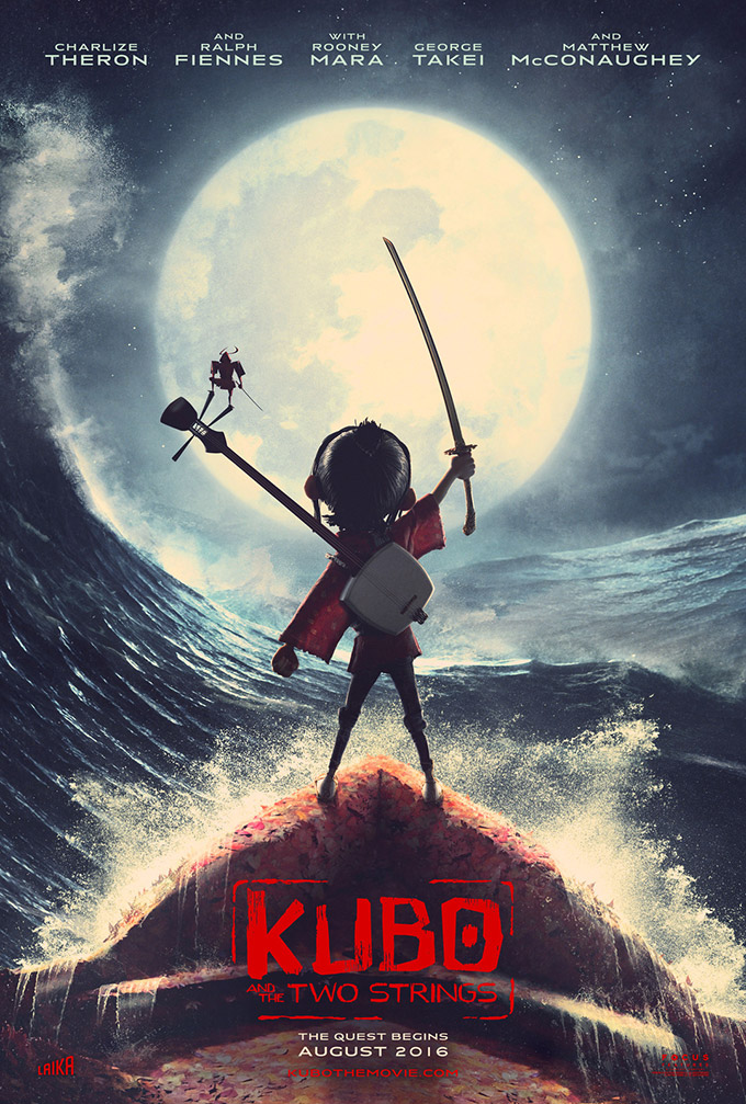 Check Out The First Trailer For Laika's Kubo And The Two Strings