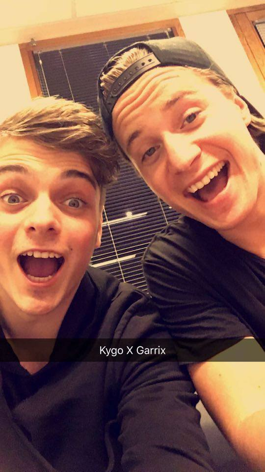 Are Martin Garrix And Kygo Working On A Song Together?
