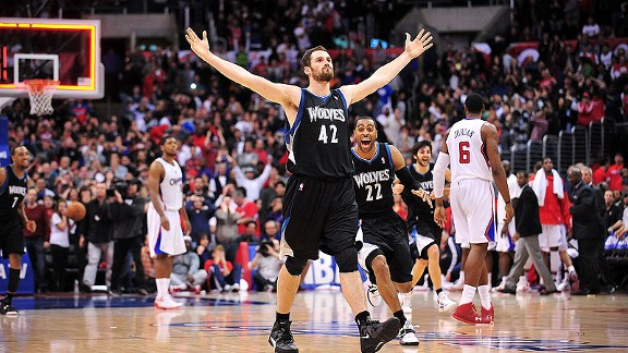 Kevin Love Signs Extension With The Timberwolves