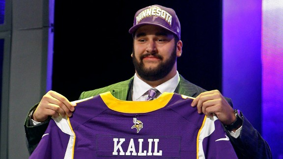 la u matt kalil mb 576 2012 NFL Draft Winners: Minnesota Vikings